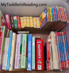 Books that I read to my toddler son.