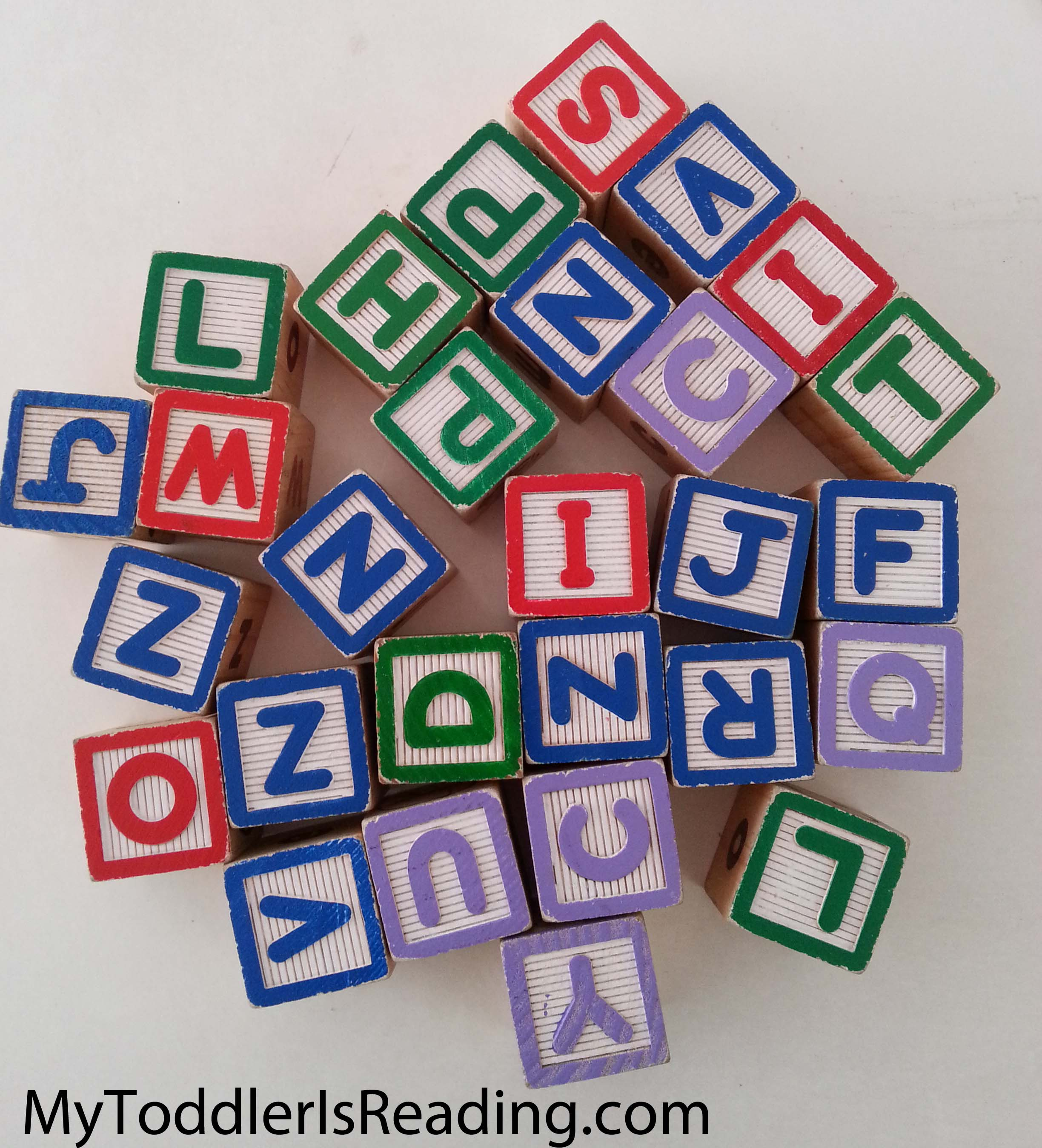 Wooden letters block to for stacking fun and for learning the alphabet.