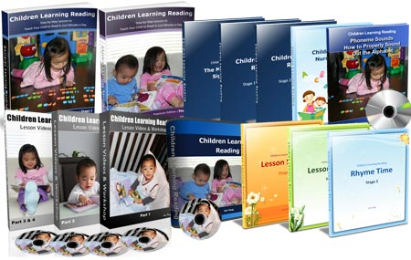 Premium edition of Children Learning Reading program