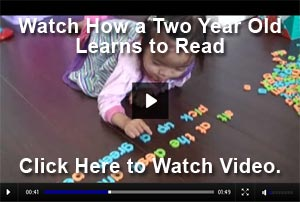Watch a 2-year-old boy reading video