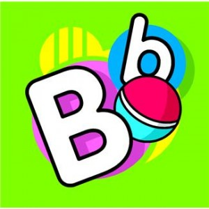 Picture of letter b and ball.