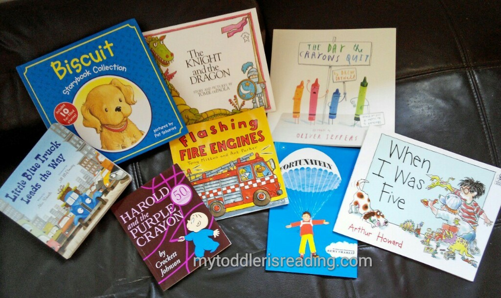 Books As Birthday Gifts For A 4 Year Old Boy